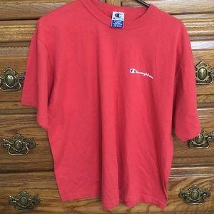 Red orange champion T-shirt